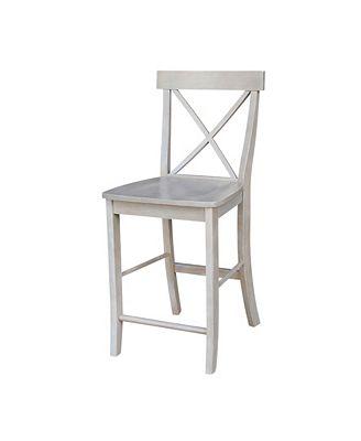 International Concepts X Back Counterheight Stool 24 Seat Height