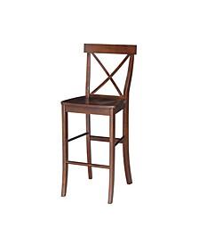 "X-Back Barheight Stool - 30"" Seat Height"