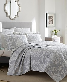 Laura Ashley Full/Queen Venetia Quilt Set