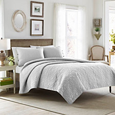 Laura Ashley King Felicity Quilt Set
