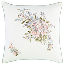 Laura Ashley Harper Green Square Pillow
