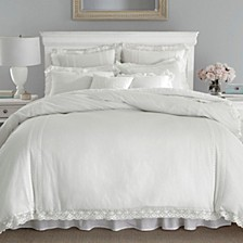 Full/Queen Annabella White Duvet Set
