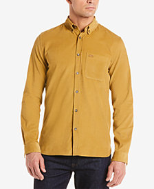 Lacoste Men's Slim-Fit Corduroy Shirt