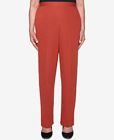 Alfred Dunner Autumn In New York Pull-On Pants