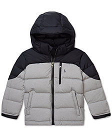 Polo Ralph Lauren Little Boys Quilted Down Jacket