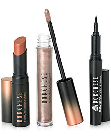 Receive a Complimentary 3-pc makeup gift with any $75 Borghese purchase