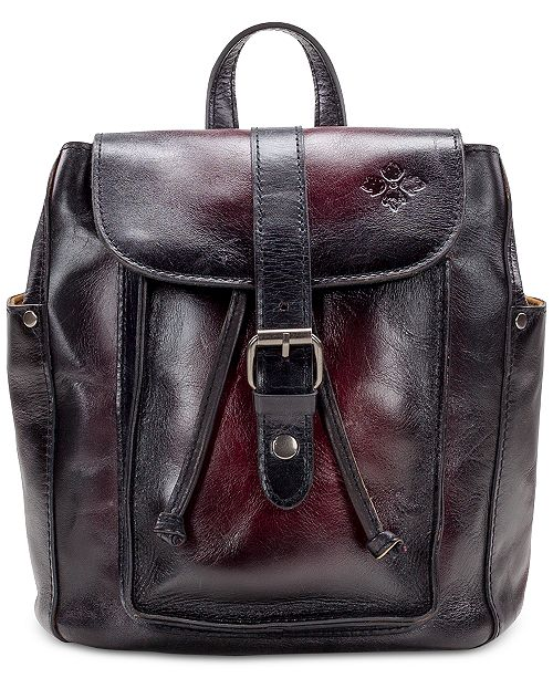 7440cdee9e6c7b Patricia Nash Aberdeen Stained Leather Backpack & Reviews ...