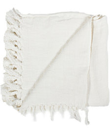 Lemmy Heavy Linen Throw