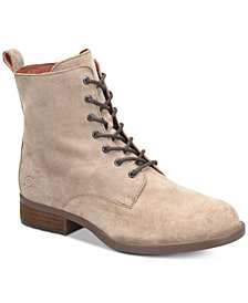 Born Remy Lace-up Combat Booties