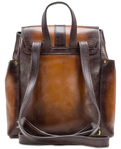 7ce126d95ab8 Patricia Nash Aberdeen Stained Leather Backpack   Reviews - Handbags ...