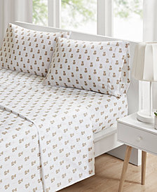 Intelligent Design Novelty 4-PC Queen Printed Sheet Set