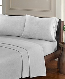 Urban Habitat Heathered 4-PC King Cotton Jersey Knit Sheet Set