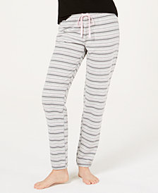Jenni Brushed Terry Pajama Pants, Created for Macy's