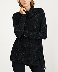 Calvin Klein Sparkle Fleck Turtleneck Sweater