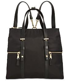 I.N.C. Haili Nylon Convertible Backpack, Created for Macy's
