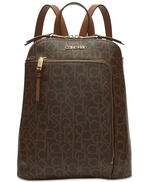 bc23fd5728 Calvin Klein Signature Hudson Backpack & Reviews - Handbags ...