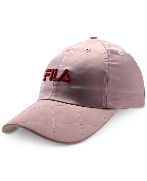 Fila Quilted Satin Hat - Women s Brands - Women - Macy s 1346eab50