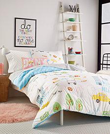 DKNY Kids Big City Dreams Twin Duvet Set