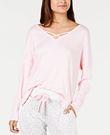 Ande Supersoft V-Neck Knit Pajama Top