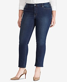 Plus Size Modern Straight Curvy Jeans