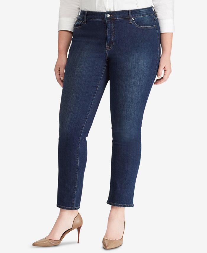 Lauren Ralph Lauren - Plus Size Modern Straight Curvy Jeans