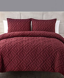 Artemis 3-Pc. Full/Queen Embossed Down Alternative Comforter Set
