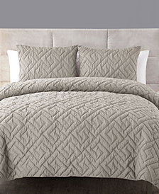 VCNY Home Artemis 3-Pc. Full/Queen Embossed Down Alternative Comforter Set