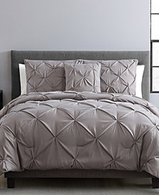 VCNY Home Carmen 3-Pc. Ruched King Duvet Cover Set