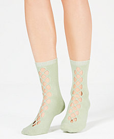 Free People Bonjour Cutout Ankle Socks