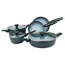 Range Kleen Moneta Azul Gres Ceramic Non-Stick Forged Aluminum 8-pc Cookware Set