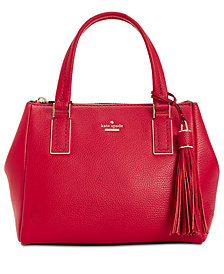 kate spade new york Kingston Drive Alena Medium Pebble Leather Satchel