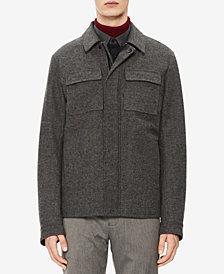Calvin Klein Mens Herringbone Jacket
