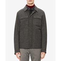 Deals on Calvin Klein Mens Herringbone Jacket