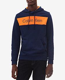 Calvin Klein Men's Colorblocked Logo-Print Hoodie