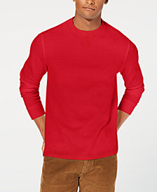 Club Room Men's Flatback Crewneck Sweater, Created for Macy's