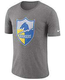 Nike Men's Los Angeles Chargers Historic Crackle T-Shirt