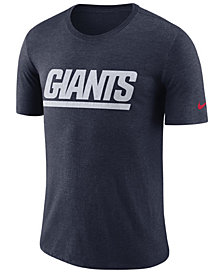 Nike Men's New York Giants Historic Crackle T-Shirt