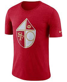 Nike Men's San Francisco 49ers Historic Crackle T-Shirt
