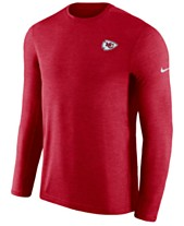 570400fc8b5 Nike Men s Kansas City Chiefs Coaches Long Sleeve Top
