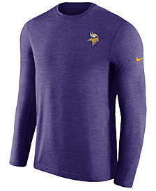 Nike Men's Minnesota Vikings Coaches Long Sleeve Top