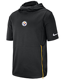 Nike Men's Pittsburgh Steelers Therma Top Short Sleeve Jacket