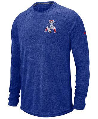Nike Men's New England Patriots Stadium Long Sleeve T-Shirt