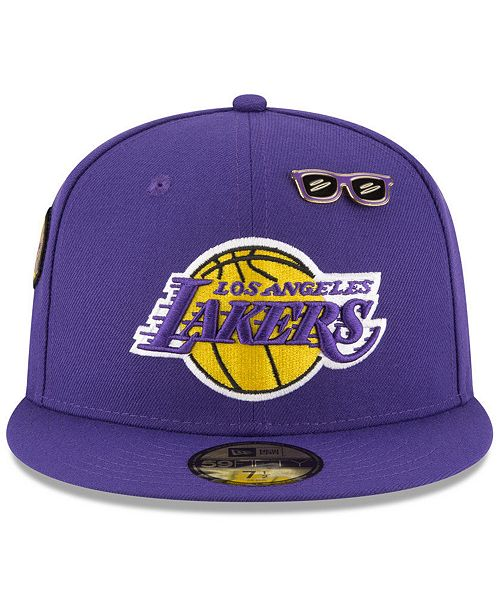 wholesale dealer ee6e6 33093 New Era. Los Angeles Lakers On-Court Collection 59FIFTY FITTED Cap. Be the  first to Write a Review. main image  main image  main image ...