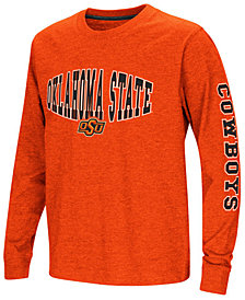 Colosseum Oklahoma State Cowboys Spike Long Sleeve T-Shirt, Big Boys (8-20)