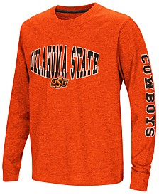Colosseum Oklahoma State Cowboys Spike Long Sleeve T-Shirt, Big Boys (8-20)