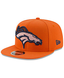 New Era Denver Broncos Meshed Mix 9FIFTY Snapback Cap