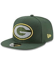 New Era Green Bay Packers Meshed Mix 9FIFTY Snapback Cap