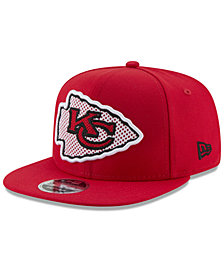 New Era Kansas City Chiefs Meshed Mix 9FIFTY Snapback Cap