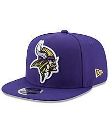 New Era Minnesota Vikings Meshed Mix 9FIFTY Snapback Cap