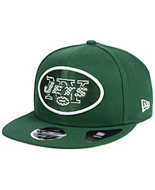 New Era New York Jets Meshed Mix 9FIFTY Snapback Cap